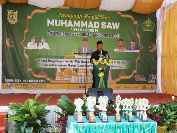 Peringatan Maulid Nabi MUHAMMAD SAW 1441H/2020M