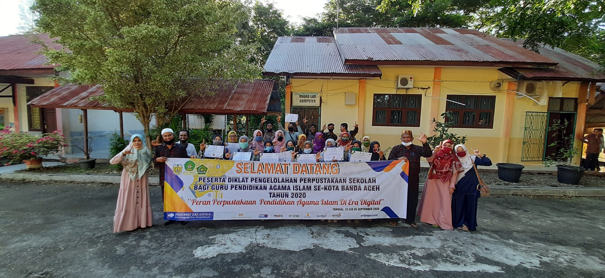 Diklat Pengelolaan Perpustakaan Sekolah Bagi Guru Pendidikan Agama Islam (PAI) Se- Kota Banda Aceh)