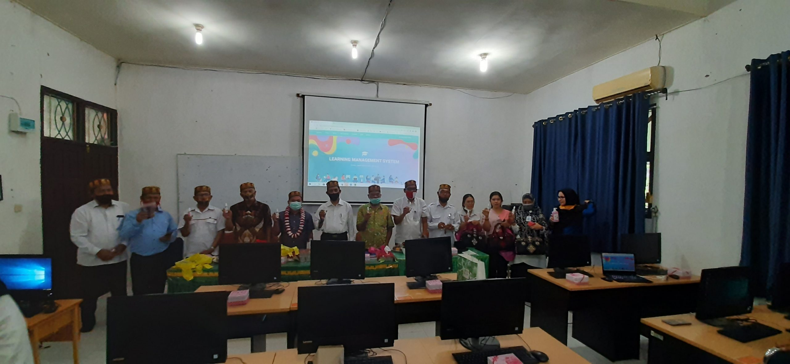 Kedatangan Rombongan Komisi III DPRD Pakpak Bharat di SMP Negeri 19 Percontohan Banda Aceh