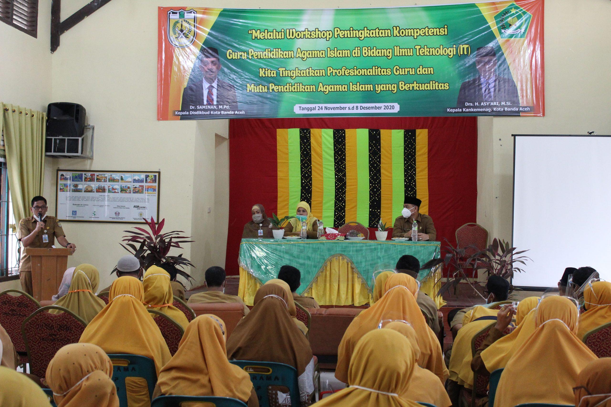 WorkShop Peningkatan Kompetensi Guru Pendidikan Agama Islam di Bidang Ilmu Teknologi (IT)