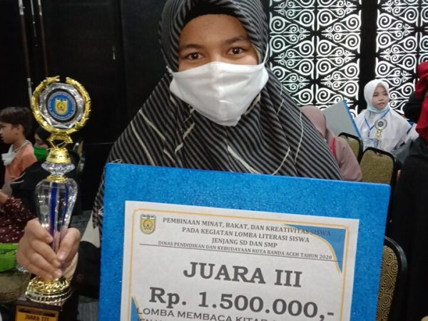 Juara III Lomba Literasi (Baca Kitab Arab Jawi)