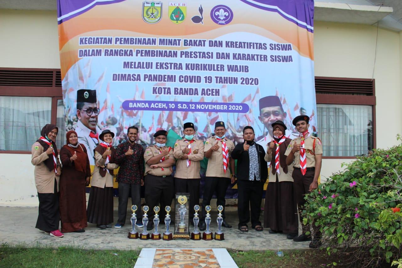Kegiatan Pembinaan Minat Bakat dan Kreatifitas Siswa Dalam Rangka Pembinaan Prestasi dan Karakter Siswa Melalui Ekstra Kurikuler WajibDimasa Pandemi Covid 19 Tahun 2020 Kota Banda Aceh