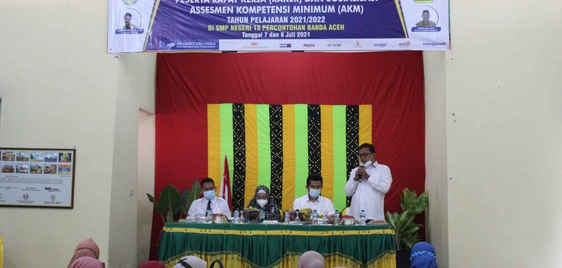 Rapat Kerja dan Sosialisasi Assesmen Kompetensi Minumum T.P 2021-2022